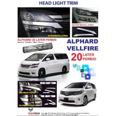 T/VELLFIRE HEADLAMP TRIM COVER