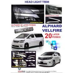 T/VELLFIRE HEADLAMP TRIM COVER